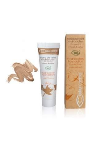 Teint Fluide Bio Hydracoton 14 Golden Sand. Couleur Caramel