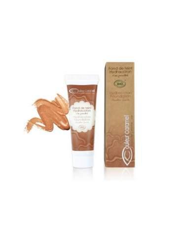Teint Fluide Bio Hydracoton 16 Honey. Couleur Caramel