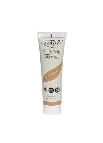 BB Cream Ecológica Sublime. Tono Oscuro. PuroBio
