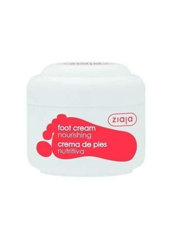 Crème pour les Pieds Nourrissante Naturelle à l'Huile d'Olive. Ziaja