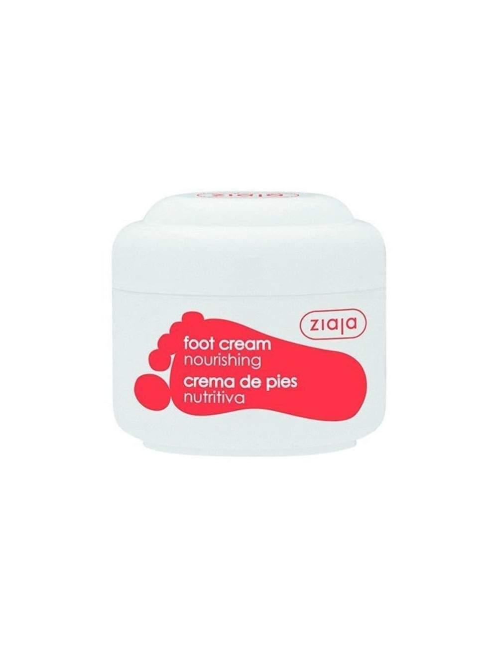 Crema de Pies Natural Nutritiva de Aceite de Oliva. Ziaja