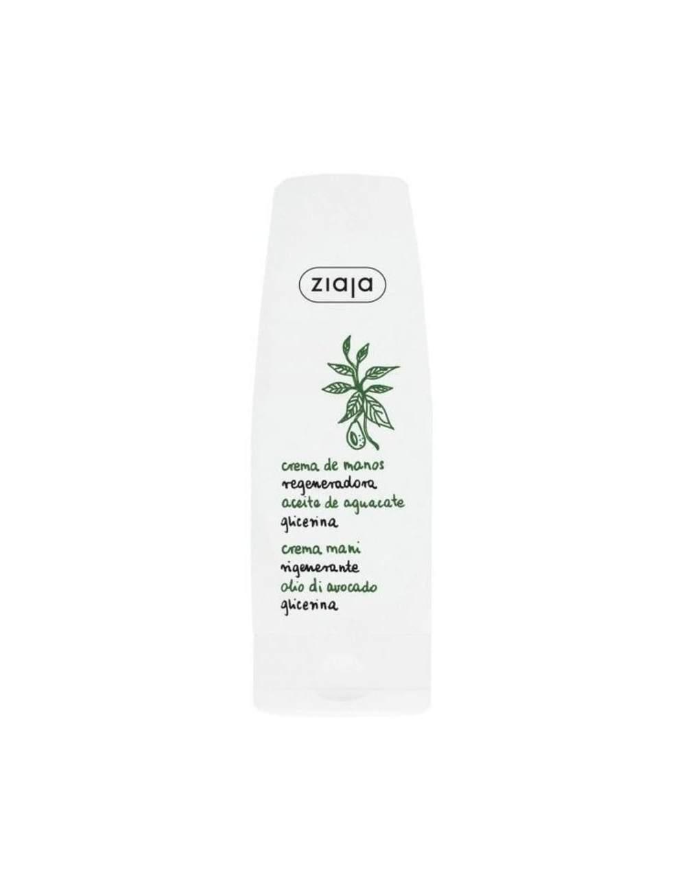 Crema de Manos Natural Regeneradora Aceite de Aguacate. Ziaja