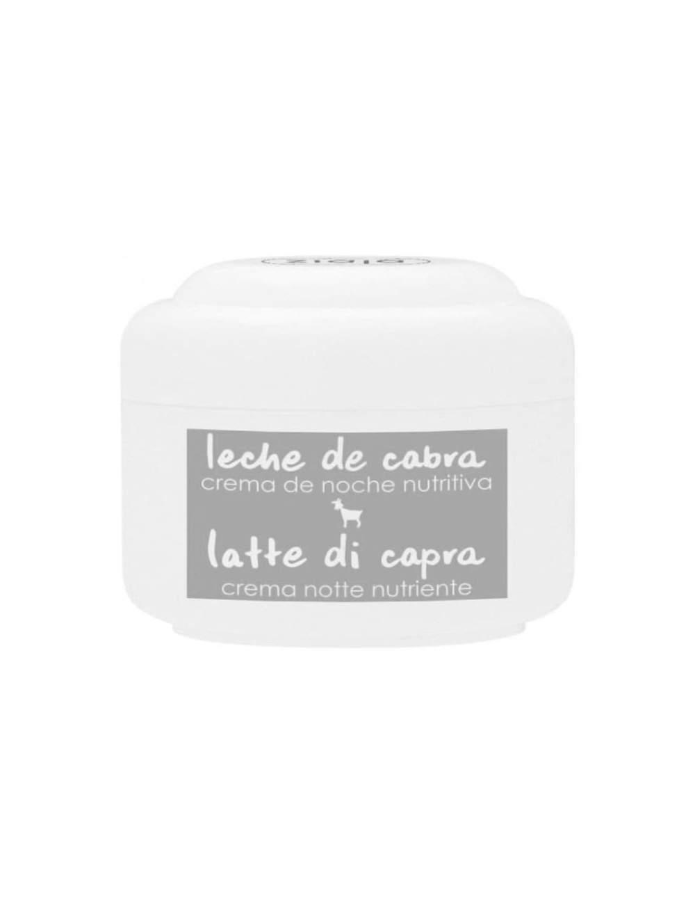 Crème Faciale de Nuit Naturelle Nourrissante de Lait de Chèvre. Ziaja