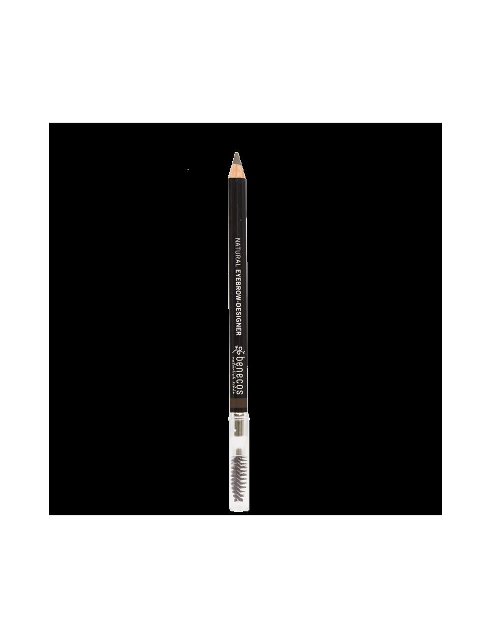 Crayon à Sourcils Bio Brown. Benecos.