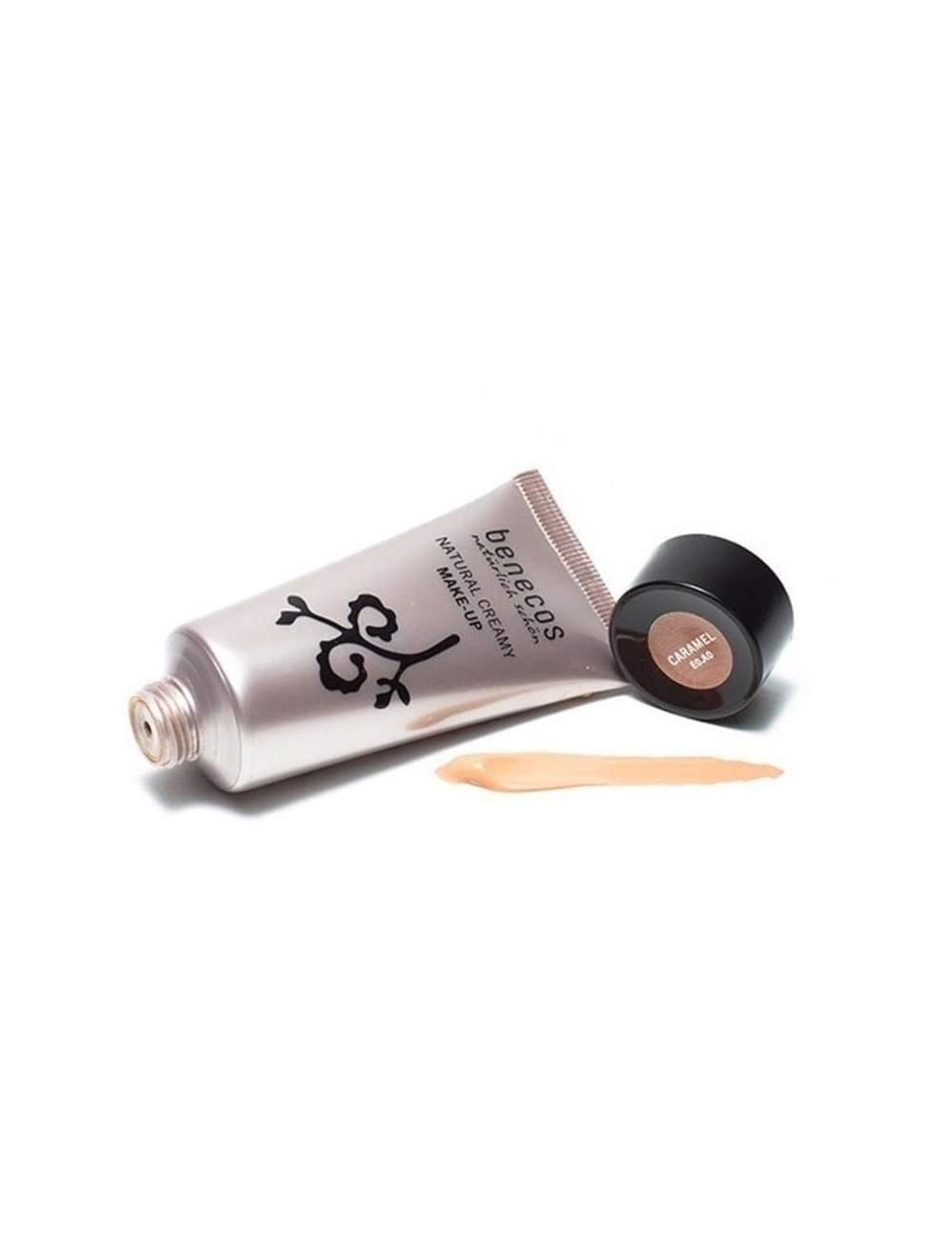 Maquillage Bio en Crème Caramel. Benecos